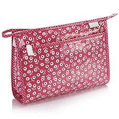 Victoria Green - Debenhams Exclusive: Daisy Russet Wash Bag
