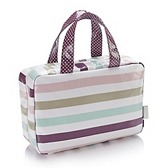 Victoria Green - Debenhams Exclusive: Langdale Stripe Traveller Bag