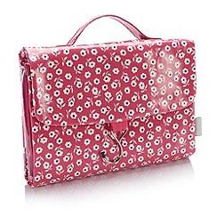 Victoria Green - Debenhams Exclusive: Daisy Threefold Hanging Bag