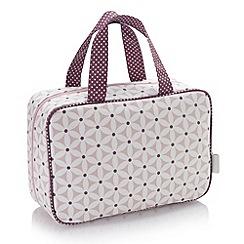 Victoria Green - Debenhams Exclusive: Starflower Hanging Traveller Bag