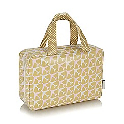 Victoria Green - 'Jetset' print traveller bag