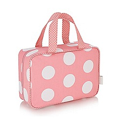 Victoria Green - 'Lola' hanging traveller bag