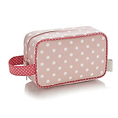 Victoria Green - 'Southwold Blush' cosmetics pouch