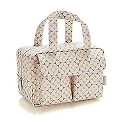 Victoria Green - 'Aubyn Khaki' carry all wash bag