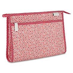 Victoria Green - 'Celia Pink' wash bag