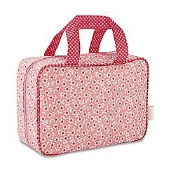 Victoria Green - 'Celia Pink' hanging traveller wash bag
