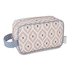 Victoria Green - 'Trerice Blush' cosmetics pouch