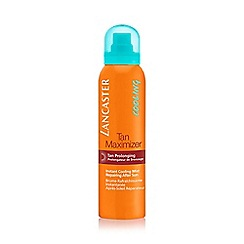 Lancaster - Tan Maximiser Instant Cooling Mist Repairing After Sun for body 125ml