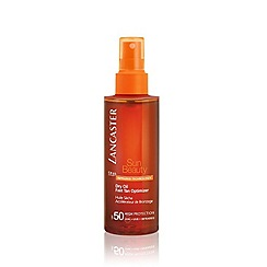 Lancaster - Satin Sheen Oil Fast Tan Optimizer Body SPF30 - High Protection 150ml