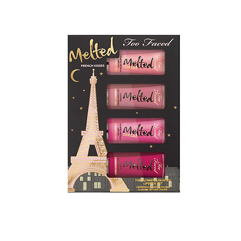 Too Faced - French Melted Kisses Liquid Lipstick gift set