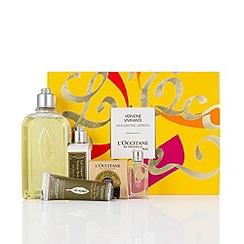 L'Occitane en Provence - 'Invigorating Verbena' collection of five Christmas gift set