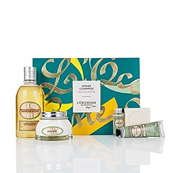 L'Occitane en Provence - 'Delicious Almond' collection of five Christmas gift set