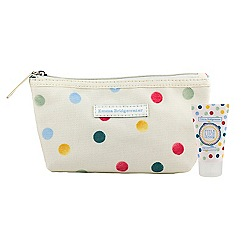 Emma Bridgewater - Feels Like Home Cosmetic Purse (with Hand Cream)