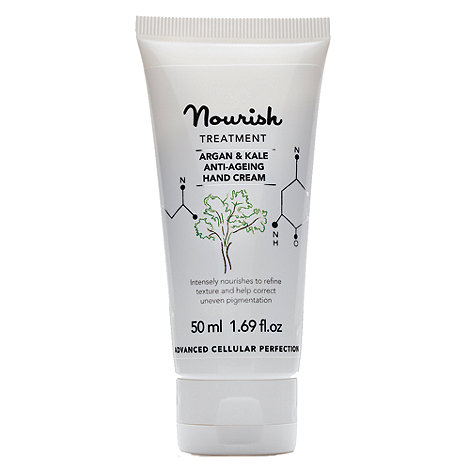 Nourish - +Argan And Kale+ anti ageing hand cream 50ml