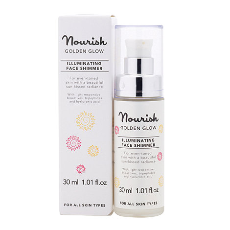 Nourish - Golden Glow Illuminating Face Shimmer 30ml
