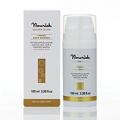 Nourish - Golden Glow Toning Body Shimmer 100ml