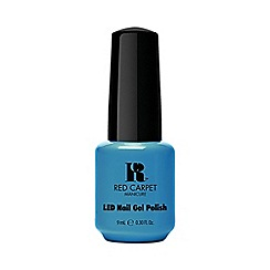 Red Carpet Manicure - Blue Crème LED Gel Polish