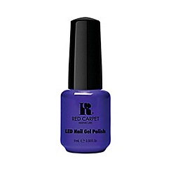 Red Carpet Manicure - Dark Blue Crème LED Gel Polish