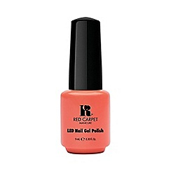 Red Carpet Manicure - Coral LED gel nail polish 9ml