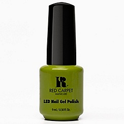 Red Carpet Manicure - Kiwi-Lime Affair LED nail gel polish 9ml