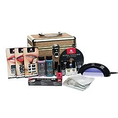 Red Carpet Manicure - 'Glitter Train Case' gel polish pro kit