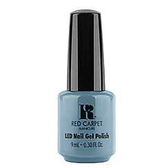 Red Carpet Manicure - 'Dress rehearsal' blue gel nail polish 9ml