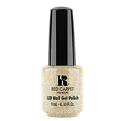 Red Carpet Manicure - Gel polish - All That Sparkles Gold 9ml