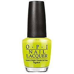 OPI - Life Gave Me Lemons Nail Lacquer