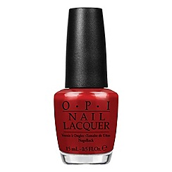 OPI - Gwen Holiday Collection- What's Your Point-settia
