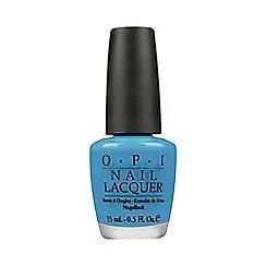 OPI - No room for the blues nail polish 15ml