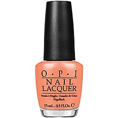 OPI - Hawaii Collection Laquer - Is Mai Tai Crooked?