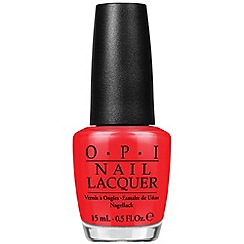 OPI - Brights Collection Laquer 15ml- I Stop For  Red