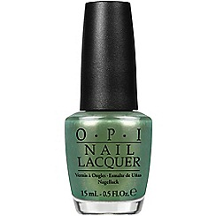 OPI - COCA COLA COLLECTION LACQUER 15ML -  Visions of Georgia Green