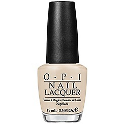 OPI - COCA COLA COLLECTION LACQUER 15ML - You're so Vain-illa