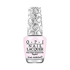 OPI - Hello Kitty Collection- Let's Be Friends! nail laquer