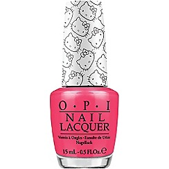 OPI - Hello Kitty Collection- Spoken from the Heart nail lacquer