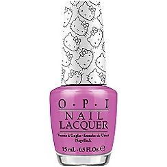 OPI - Hello Kitty Collection- Super Cute in Pink