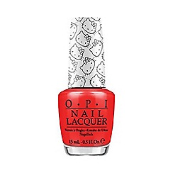 OPI - Hello Kitty Collection- 5 Apples Tall nail lacquer