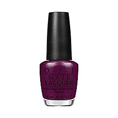 OPI - 'Alice in Wonderland - Whats the Hatter with You' nail polish 15ml