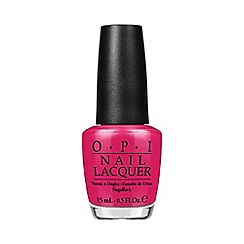 OPI - 'Alice in Wonderland - Mad for Madness Sake' nail polish 15ml