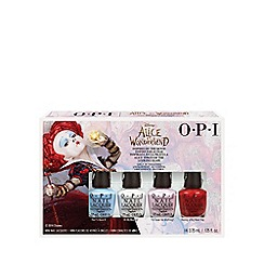 OPI - 'Alice in Wonderland - Royal Court' mini nail polish pack