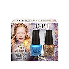 OPI - 'Alice in Wonderland - Alice' nail polish duo pack