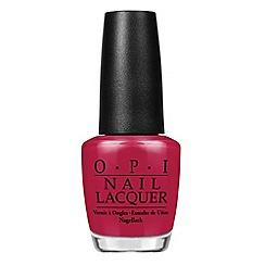 OPI - 'Washington- Madam President' nail lacquer 15ml
