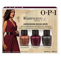 OPI - 'Washington' mini 3 piece collection