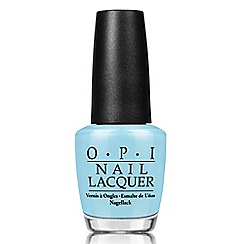 OPI - 'Breakfast at Tiffanys- I Belive in Manicures' nail lacquer 15ml