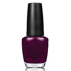 OPI - 'Breakfast at Tiffanys- Rich & Brazilian' nail lacquer 15ml
