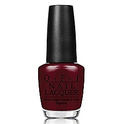 OPI - 'Breakfast at Tiffanys- Can't Read without My Lipstick' nail lacquer 15ml
