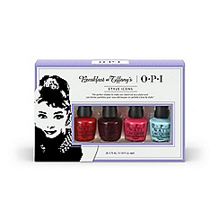 OPI - 'Breakfast at Tiffanys Mini' collection of four gift set