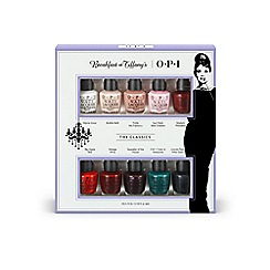 OPI - 'Breakfast at Tiffanys Mini' collection of ten gift set