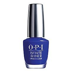 OPI - 'Infinite Shine- Indignantly Indigo' nail polish 15ml